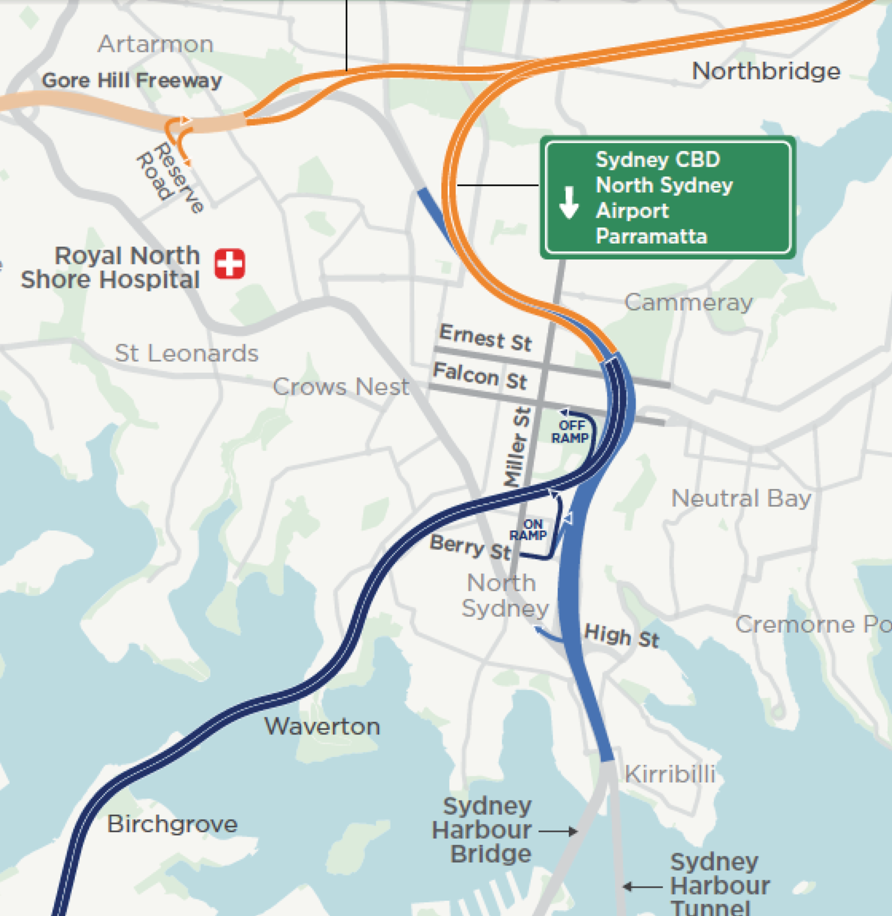 Berry Nsw Map For the NSW Government, the North Sydney city centre is just